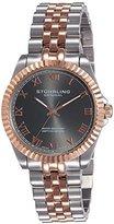 "Stuhrling Original Women's 599L.05 ""Symphony Lady Coronet"" Two-Tone Watch with Five-Piece Link Bracelet"