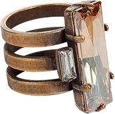 Dannijo The Paula Light Amber Ring