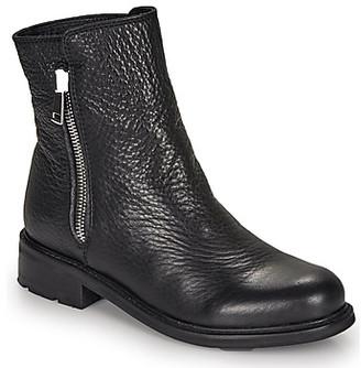 Blackstone QL04 women's Mid Boots in Black