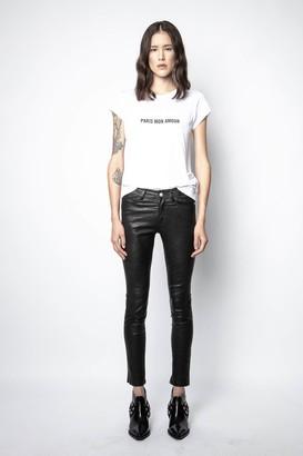 Zadig & Voltaire Paris Mon Amour T-Shirt