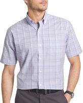 Van Heusen Short-Sleeve Luxe Touch Easy Care Woven Shirt