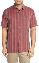 Tommy Bahama Men's Zaldera Stripe Silk Sport Shirt