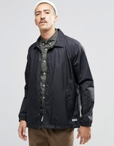 Converse Ripstop Coach Jacket In Black 10002158-a01