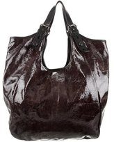 Givenchy Patent Leather Sacca Bag