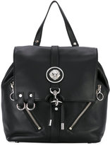 Versus embellished backpack - women - Calf Leather - One Size