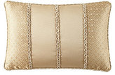 Waterford Lynath Pieced Geometric Satin Boudoir Pillow