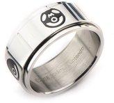 Pokemon Poke Ball Stainless Steel Spinner Ring Size 10