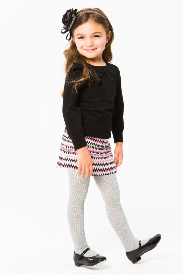 Milly Minis Girls Wool Tweed Mini Skirt - Mackenzie Mini Skirt
