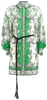 Alice + Olivia Alice+Olivia Oralia Shirt Dress