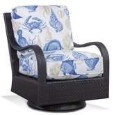 Braxton Culler Brighton Pointe Swivel Rocking Chair with Cushions Braxton Culler Fabric: 6273-54