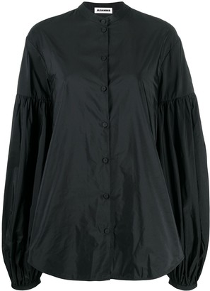 Jil Sander Balloon Sleeve Blouse