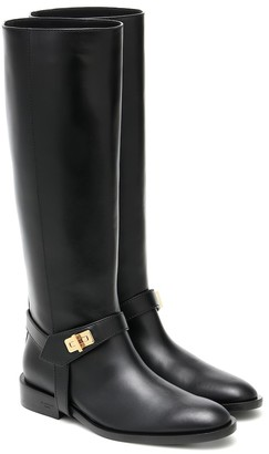 Givenchy Eden leather knee-high boots