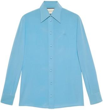 Gucci Crepe de Chine silk shirt