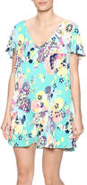 Judith March Japanese Floral Dress
