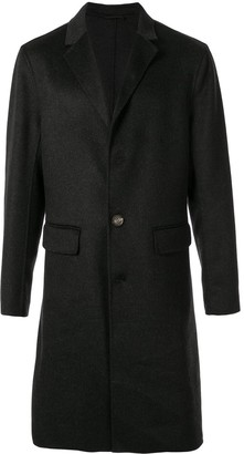 CK Calvin Klein tailored single-breasted coat
