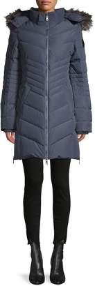 Pajar Hooded Fox Fur-Trim Down-Filled Jacket