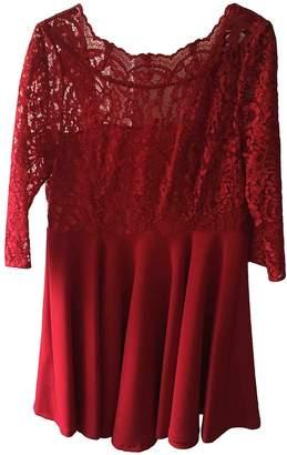Claudie Pierlot Red Lace Dress for Women