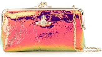 Vivienne Westwood metallic clutch bag