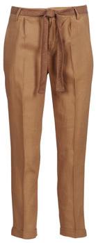 Benetton ROSA women's Trousers in Brown