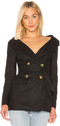 LPA Wide Neck Blazer