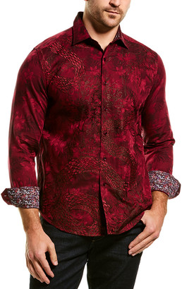 Robert Graham Burns 2.0 Classic Fit Woven Shirt