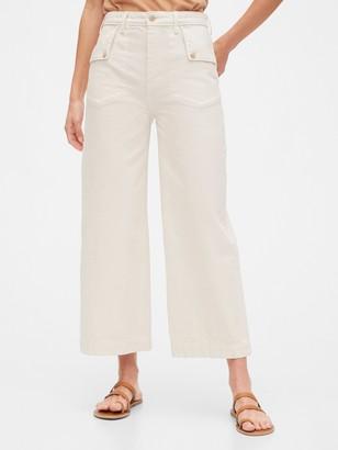 Gap Sky-High Wide-Leg Jeans