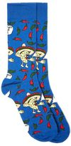 Topman Blue Let's Taco Socks