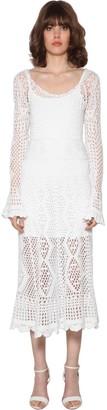 Polo Ralph Lauren Crochet Cotton Midi Dress