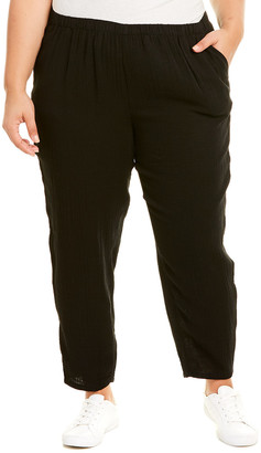 Eileen Fisher Plus Tapered Ankle Pant