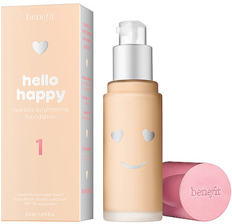 Benefit Cosmetics Hello Happy Flawless Brightening Liquid Foundation
