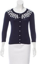 Kate Spade Embellished Cardigan Sweater