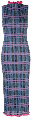 M Missoni Shimmer Checked Dress