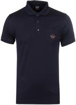 Paul & Shark Navy Jersey Polo Shirt