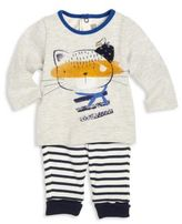Catimini Baby's & Toddler Boy's Striped Cotton Pants