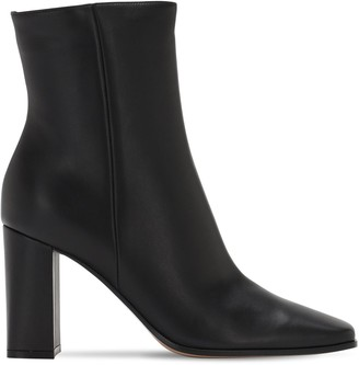 Gianvito Rossi 85mm Leather Ankle Boots