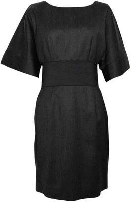 Jay Ahr Black Wool Dress for Women