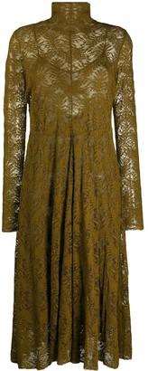 Forte Forte Lace Midi Dress
