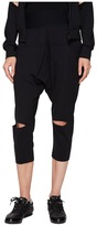 Yohji Yamamoto Jersey Sarouel Pants Women's Casual Pants