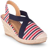 Wanted Closed Toe Espadrille Wedge Sandals - Essex
