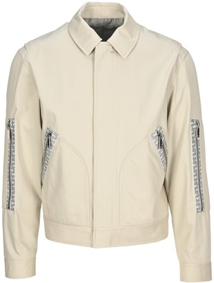 Christian Dior Oblique Jacquard Trim Jacket