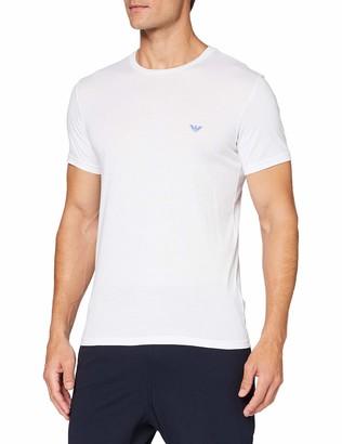 Emporio Armani Men's Loungewear-Pure Organic Cotton T-Shirt