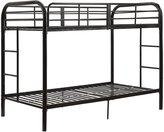 Acme Thomas Twin/Twin Bunk Bed, Black