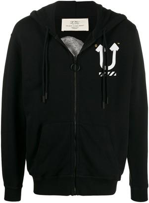 Off-White x Undercover Skeleton print hoodie
