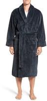 Daniel Buchler Men's Mosaic Plush Robe