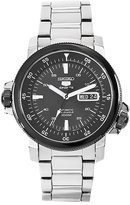 Seiko Men's SNZJ59 5 Stainless Steel Dial Watch