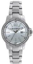 Tommy Bahama Women's 10018326 Island Breeze Analog Display Japanese Quartz Silver Watch
