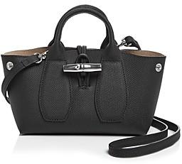 Longchamp Roseau Mini Leather Satchel