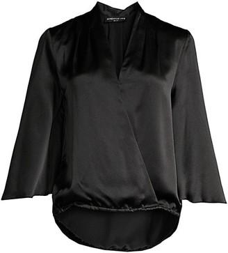 Generation Love Silk Kimono Sleeve Blouse