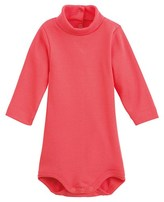 Petit Bateau Unisex baby roll neck cotton bodysuit