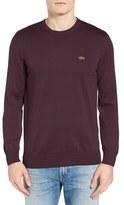 Lacoste Men's Jersey Crewneck Sweater